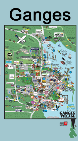 Salt Spring Adventure Map | Directions to Fun on Salt Spring